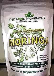 Moringa oleifera powder freeze-dried biodynamic