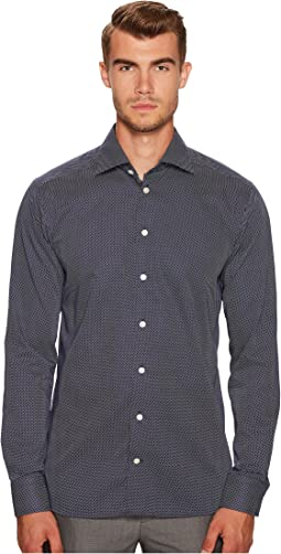Eton Slim Fit Signature Dot Shirt