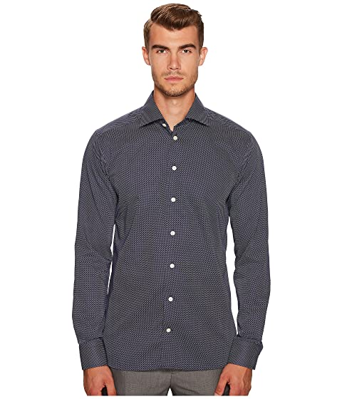 Eton Slim Fit Signature Dot Shirt
