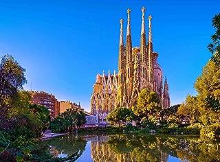 Adult Jigsaw Puzzle La Sagrada Família Church Antoni Gaudí Barcelona Spain 500-Pieces