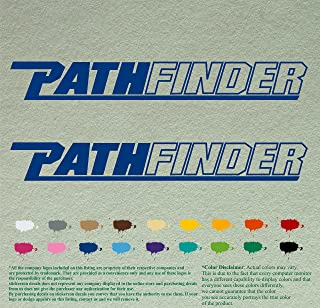 Pair of Pathfinder Boats Outboards Decals Vinyl Stickers Boat Outboard Motor Lot of 2 (12