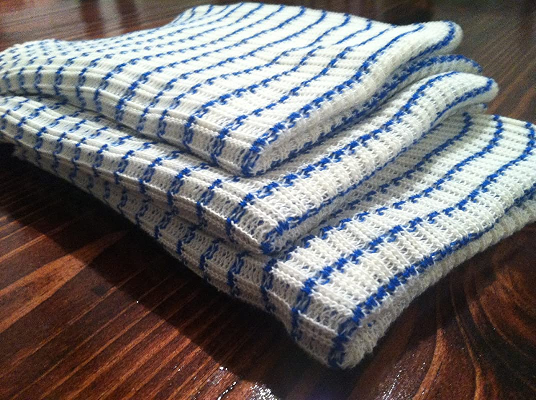 World S Best Dish Cloth Set Of 6 BLUE