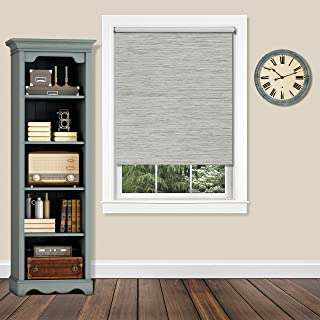 Achim CPS726HT01 Cordless Privacy Jute Shade Heather, 72