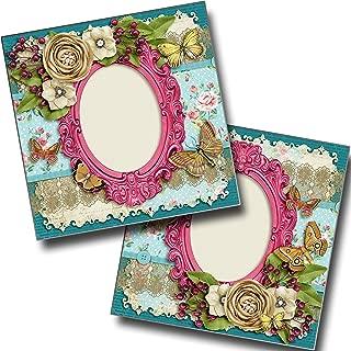 Vintage Roses - Heritage - Premade Scrapbook Pages - EZ Layout 3944