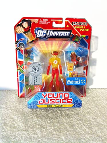 DC Universe Exclusive Young Justice Action Figure Kid Flash by Mattel Toys (English Manual)