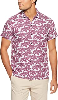 Oxford Men Finchley S/S Cotton Linen Shirt