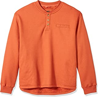 Stanley Men's Workwear Big Size Sherpa Lined Henleythermal Shirt
