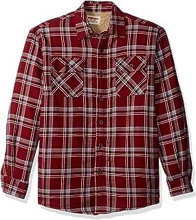 Wrangler Authentics Men's Long Sleeve Sherpa Lined Shirt...