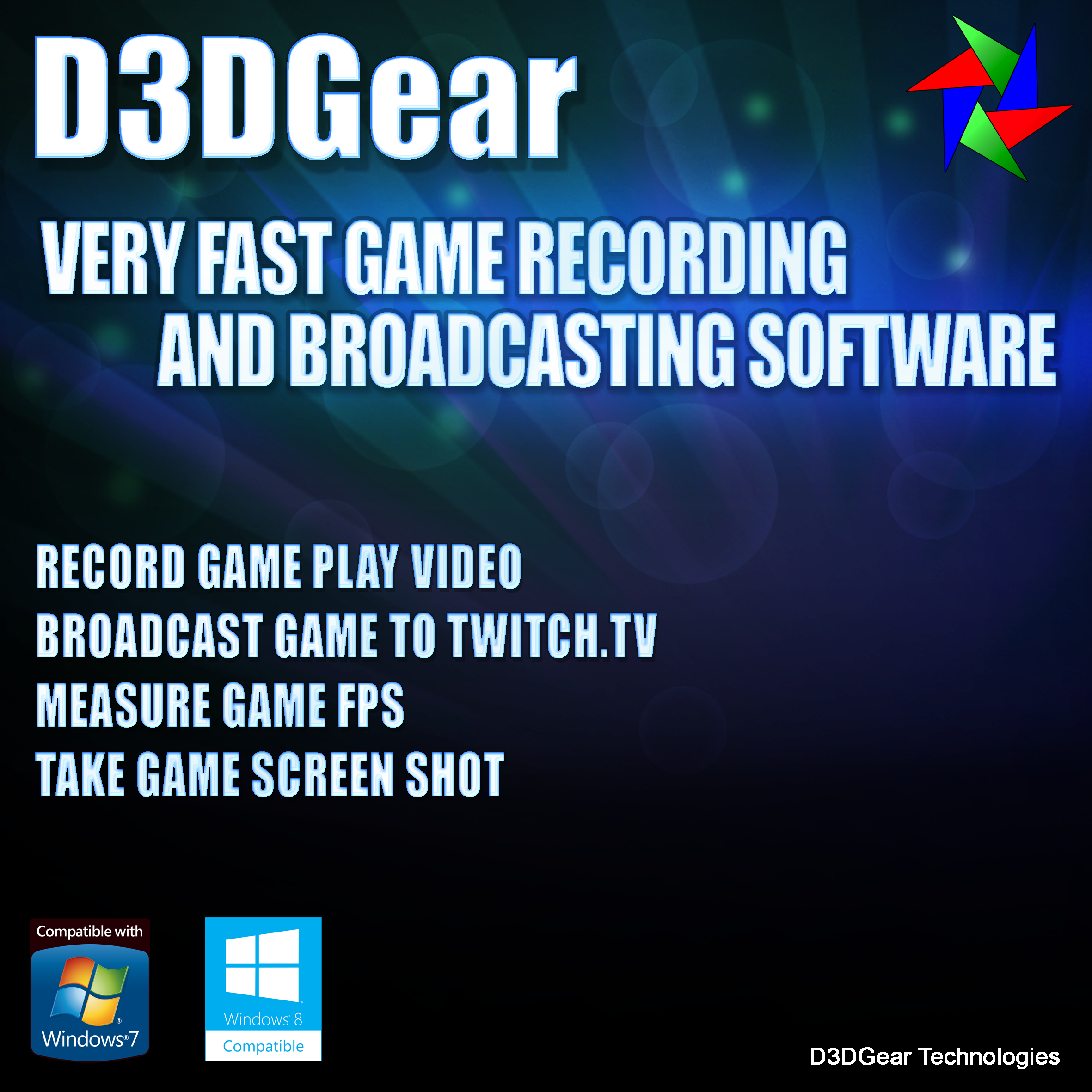 D3DGear Game Recording Software and Live Streaming Software [Download]