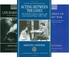 Oxford English Monographs (50 Book Series)