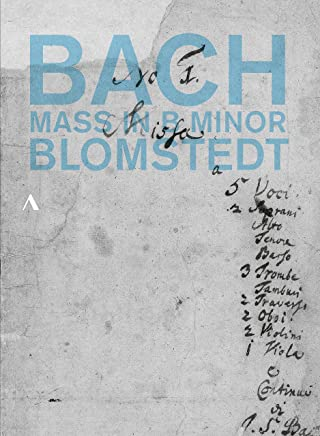 J.S. Bach: Mass in B minor BWV232 (Bach: Mass in B minor / Blomstedt) [DVD] [Pop] [Japanese band - with commentary]