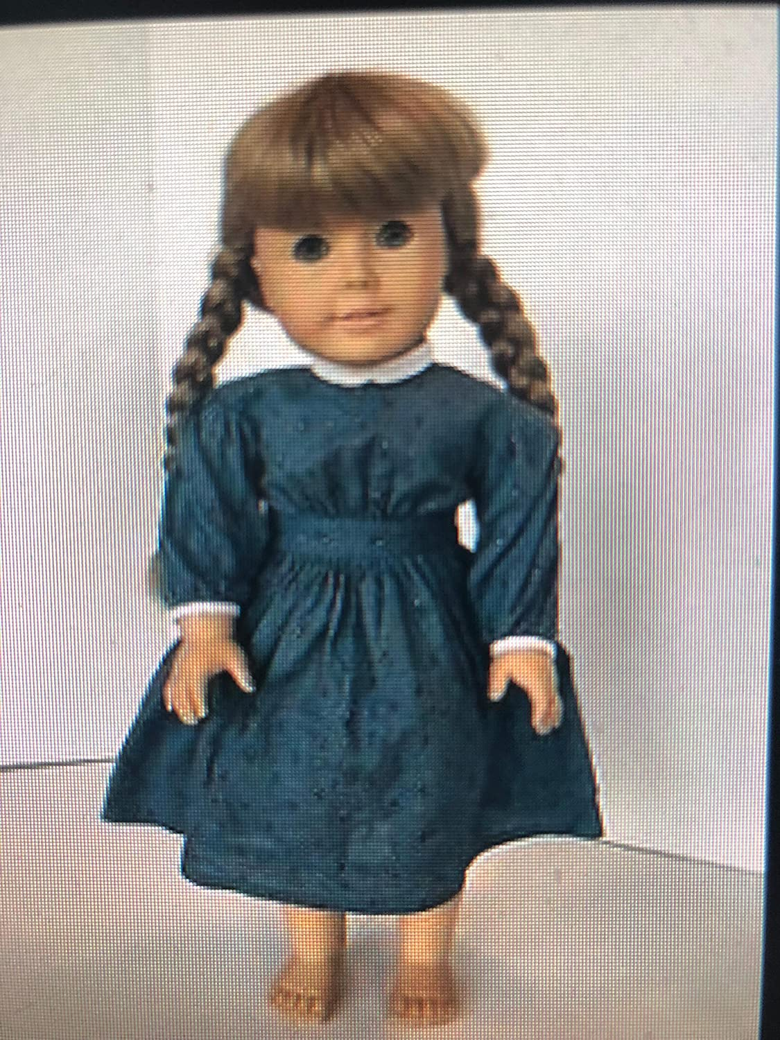 American Tampa Mall Girl Doll KIRSTEN and Paperback Denver Mall BOOK RETIRED -