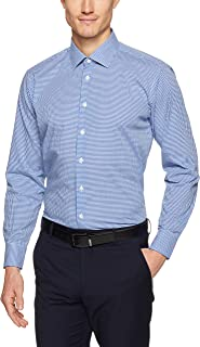 Calvin Klein Men Slim Fit Micro Check Shirt