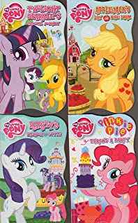 My Little Pony Board Book 4-Pack