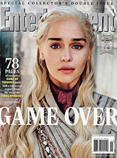 Entertainment Weekly Magazine (March 15, 2019) Game of Thrones Game Over Daenerys Targaryen Cover 1 of 16