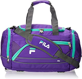 "Fila Sprinter 19"" Sport Duffel Bag, Purple/Teal - FL-SD-2719-PLTL"