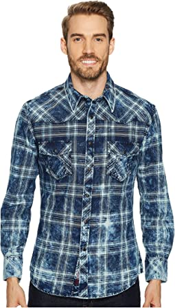 Rock and Roll Cowboy - Long Sleeve Snap B2S4117