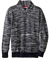 Tommy Hilfiger Kids - Robert Shawl Sweater (Big Kids)