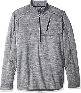 Terramar Men's Thermawool Merino Wool Half Zip Pullover Jacket