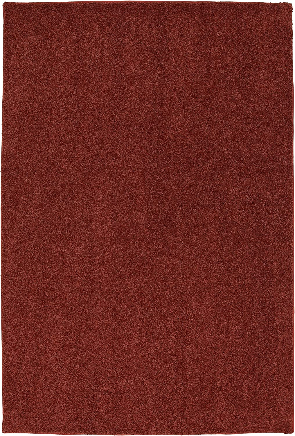 Townhouse Rugs Mohawk Home Smart Strand Satin Woven Rug, 6'x9', Country Apple