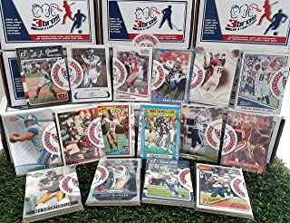 16 pack Sealed box of Football Cards with 15 different Modern & Vintage cards from all brands in each pack. Guaranteed one AUTOGRAPH or MEMORABILIA card per box! Great for 1st time collectors. By3bros