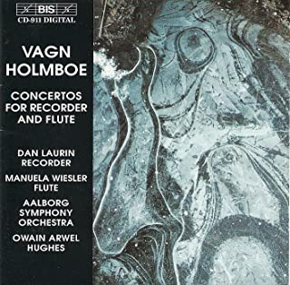 Holmboe: Recorder Concerto / Flute Concertos Nos. 1 and 2