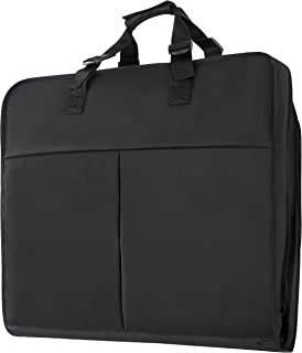 Magictodoor 40 Inch Garment Bag Extra Capacity Garment Bag with Pockets w/Hanging Hook