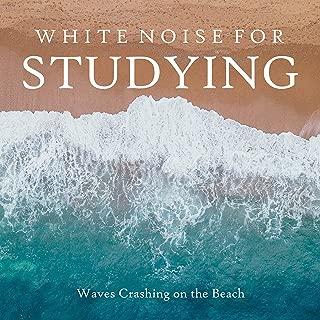 white noise waves crashing