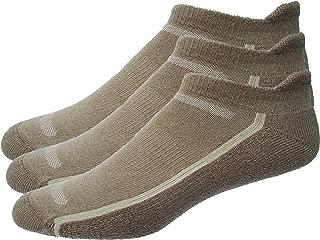 Mens 3-Pack No Show Tab Golf Socks