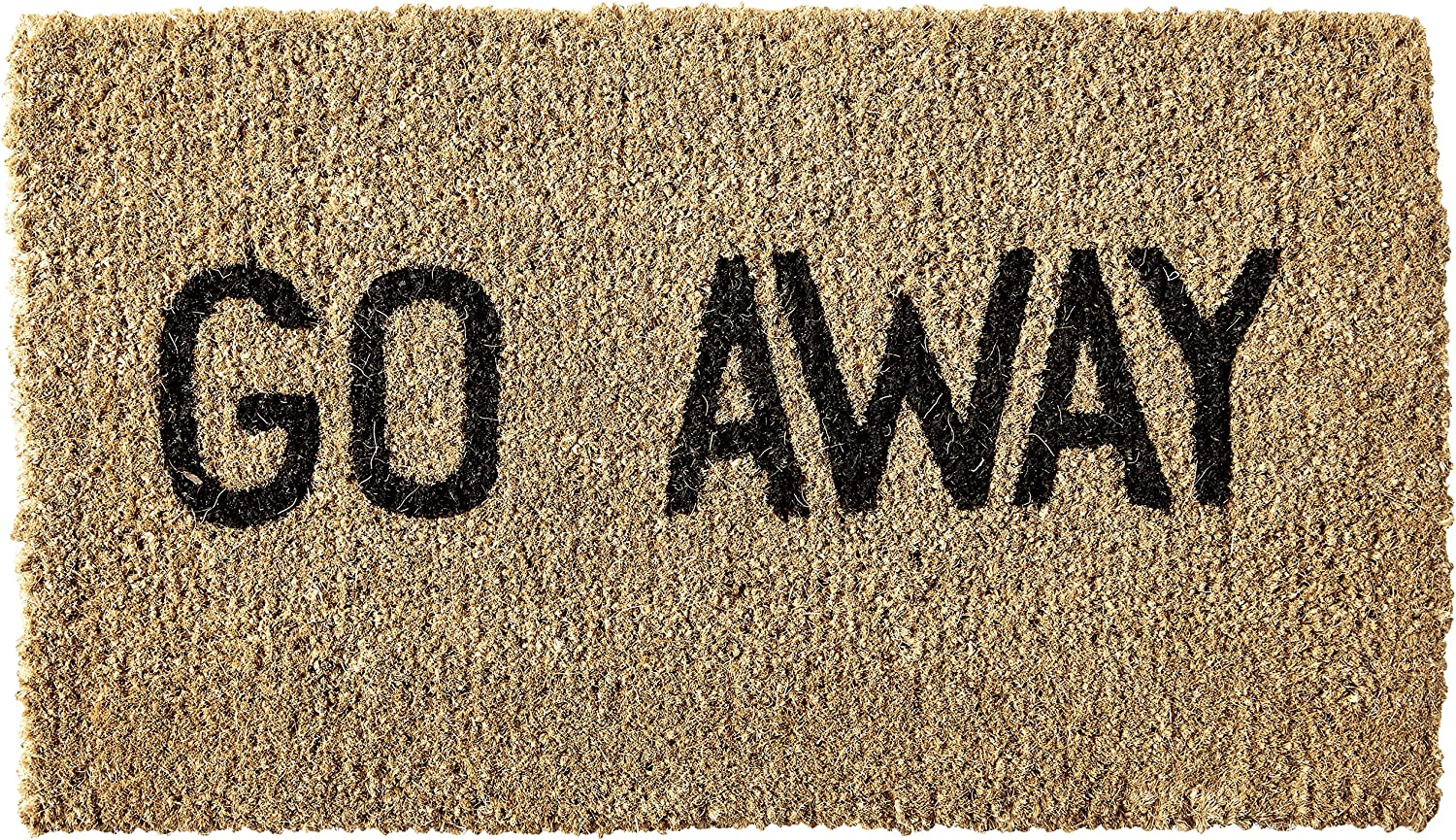 Kempf Go Away Doormat 16 by 27 by 1-Inch