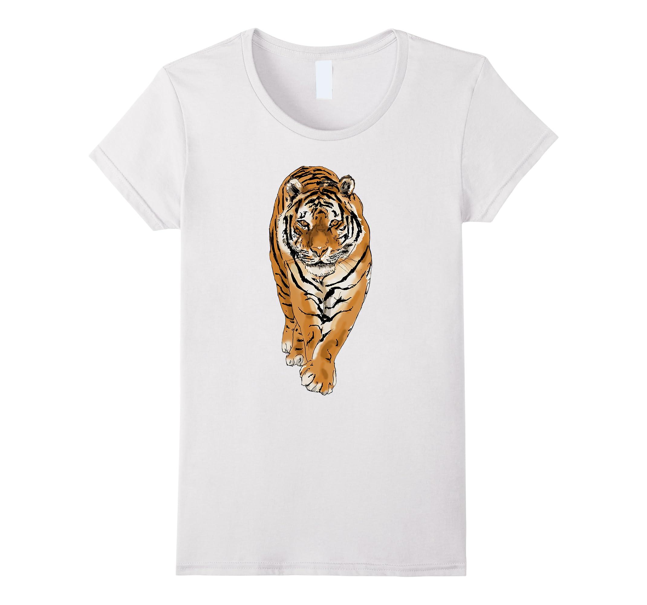 White Nature Prowl Tees T Shirt-Teeae