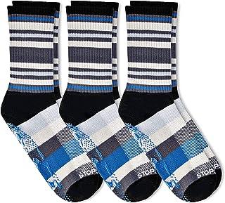 STOPSOCKS: Hospital Socks + Yoga, Traction, Gym, Tread, Non Skid, Non Slip Socks - Megaformer, Perfect Running Sock