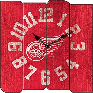 Imperial Officially Licensed NHL Merchandise: Vintage Square Clock