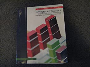 Differential Equations/Custom Edition for Diablo Valley College