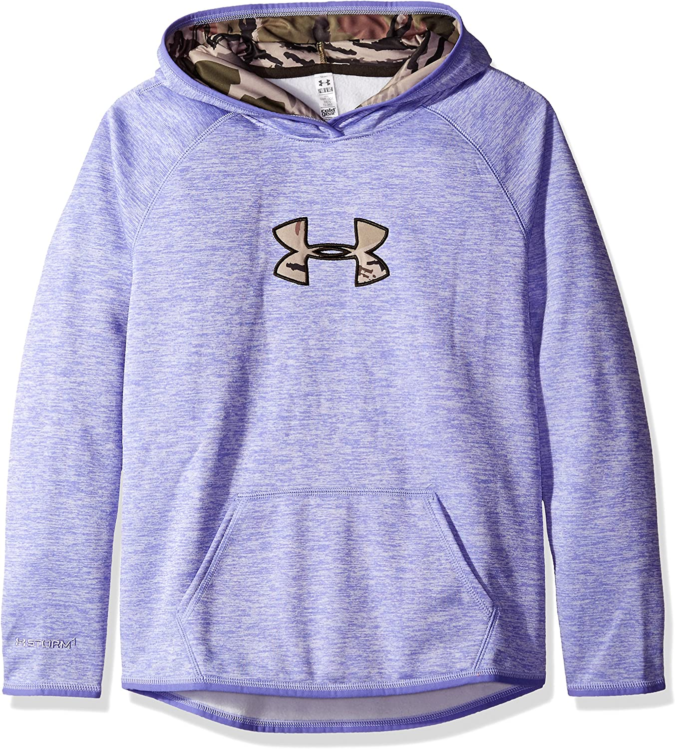 Under Armour Girls Icon Caliber Hoodie