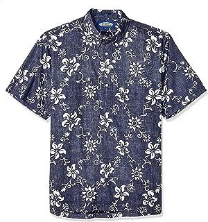 Reyn Spooner Men's Phil Edwards Classic Pullover Hawaiian Shirt