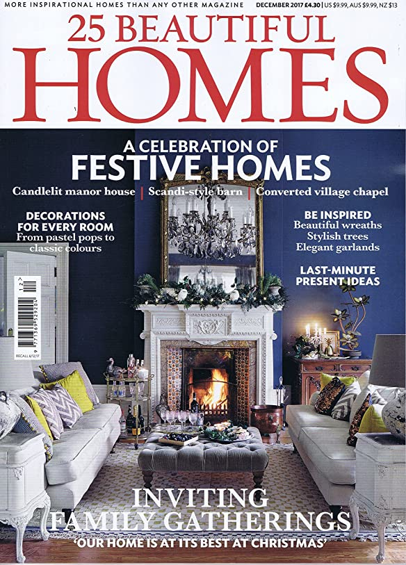 ジレンマ地上で相対サイズ25 Beautiful Homes [UK] December 2017 (単号)