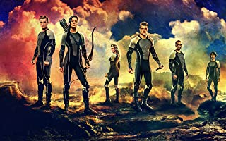 The Hunger Games Catching Fire Wall Art Canvas Print Decor by CanvasBy 70x44cm / 3.5cm Deep