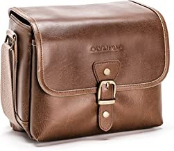 Olympus Tracker Classic Design Vintage Camera Bag  Brown