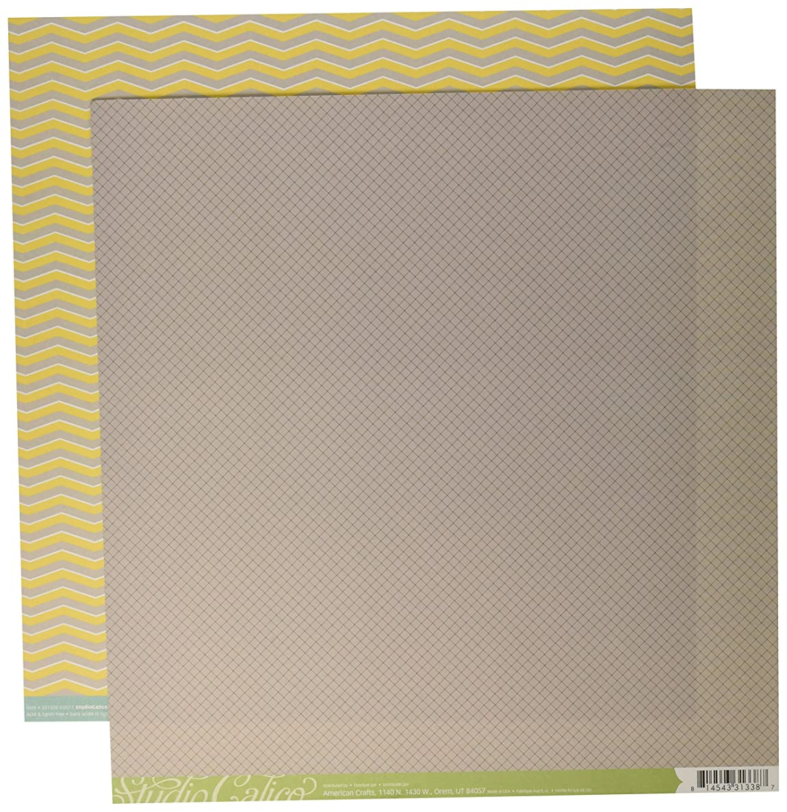 American Crafts Snippets Double-Sided Cardstock 12