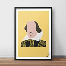 William Shakespeare INSPIRED Print/Poster