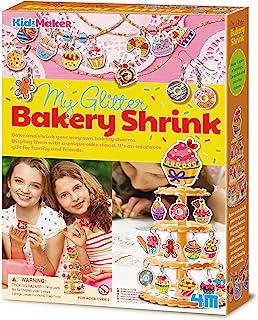 4M 404727 My Glitter Bakery Shrink Playset, Multi-Colour