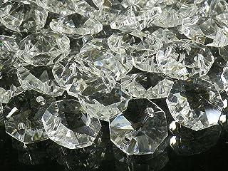 サンキャッチャー パーツ 八角 クリスタル ガラス ビーズ 10 〜 20 mm 手芸 アクセサリー 手作り (12mm100個)
