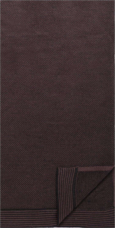 Box Packaged Men's Uptown Premium Knit Marled Scarf