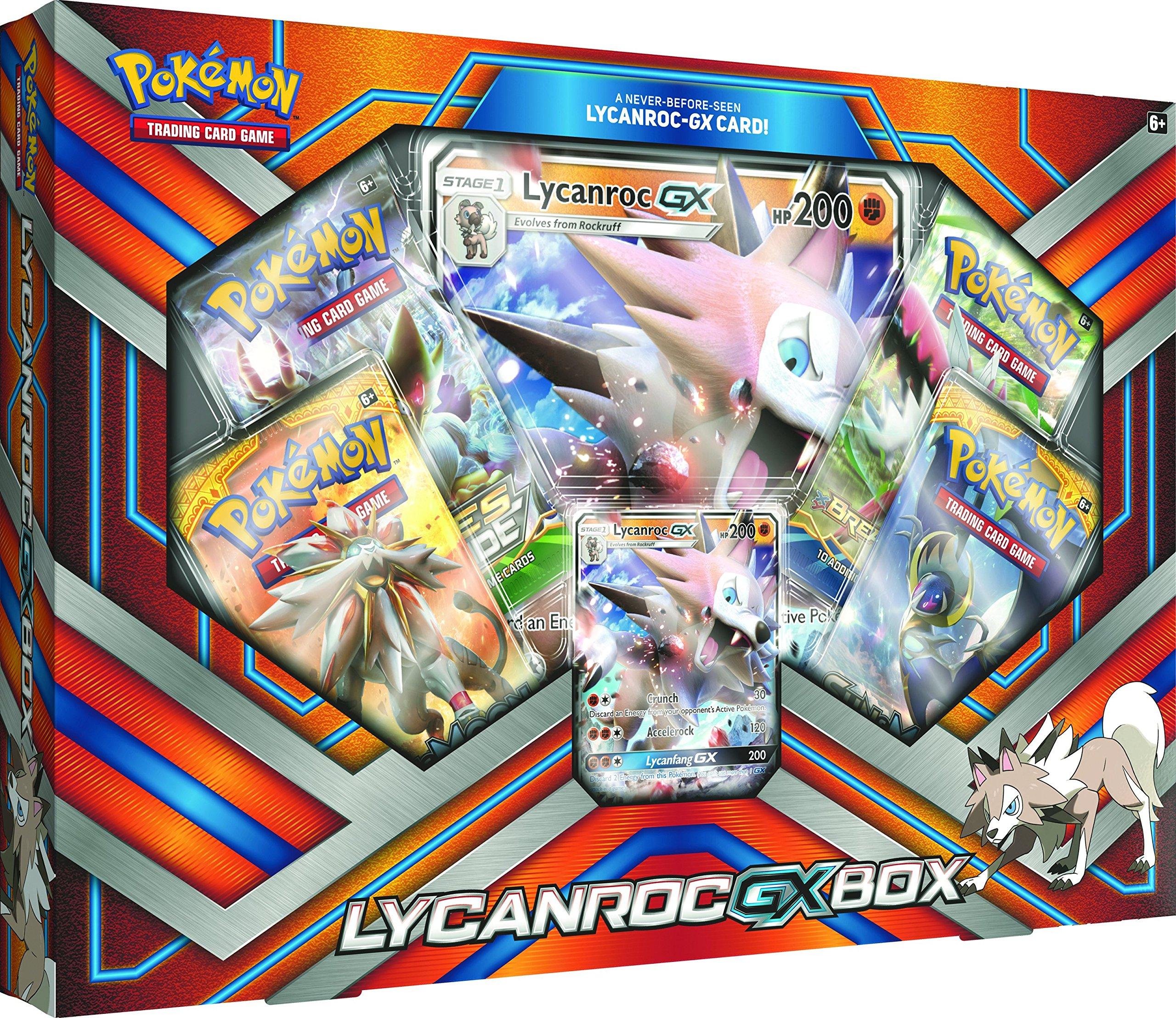 Pokèmon 290–80281 Lycanroc-GX - Juego de Cartas: Amazon.es ...