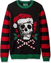 santa skull sweater
