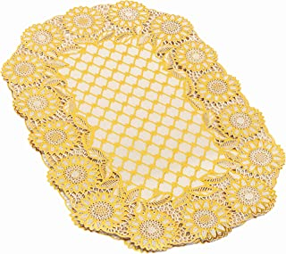 Royalford 6Pc Table Place Mat Set - PVC Non-Slip Dining Table Mats - Heat Resistant, Stain-Resistant & Easy to Clean Place...