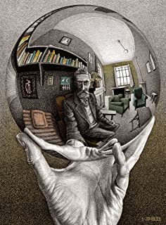 Buffalo Games - M.C. Escher - Self Portrait - 1000 Piece Jigsaw Puzzle