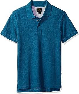 قميص بولو بأكمام قصيرة لينس للرجال