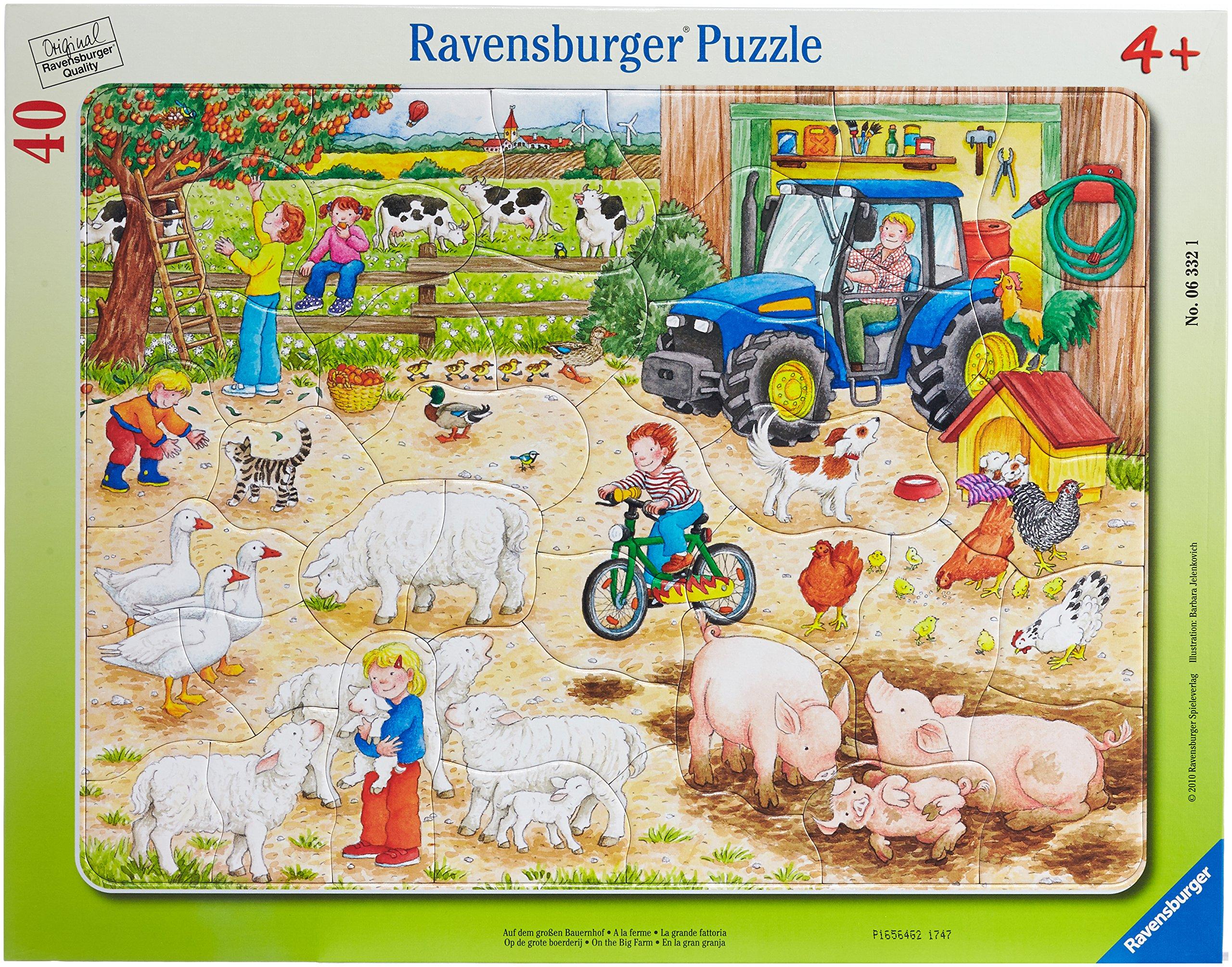Ravensburger 63321- Puzzle Infantil (40 Piezas): Amazon.es: Juguetes y juegos